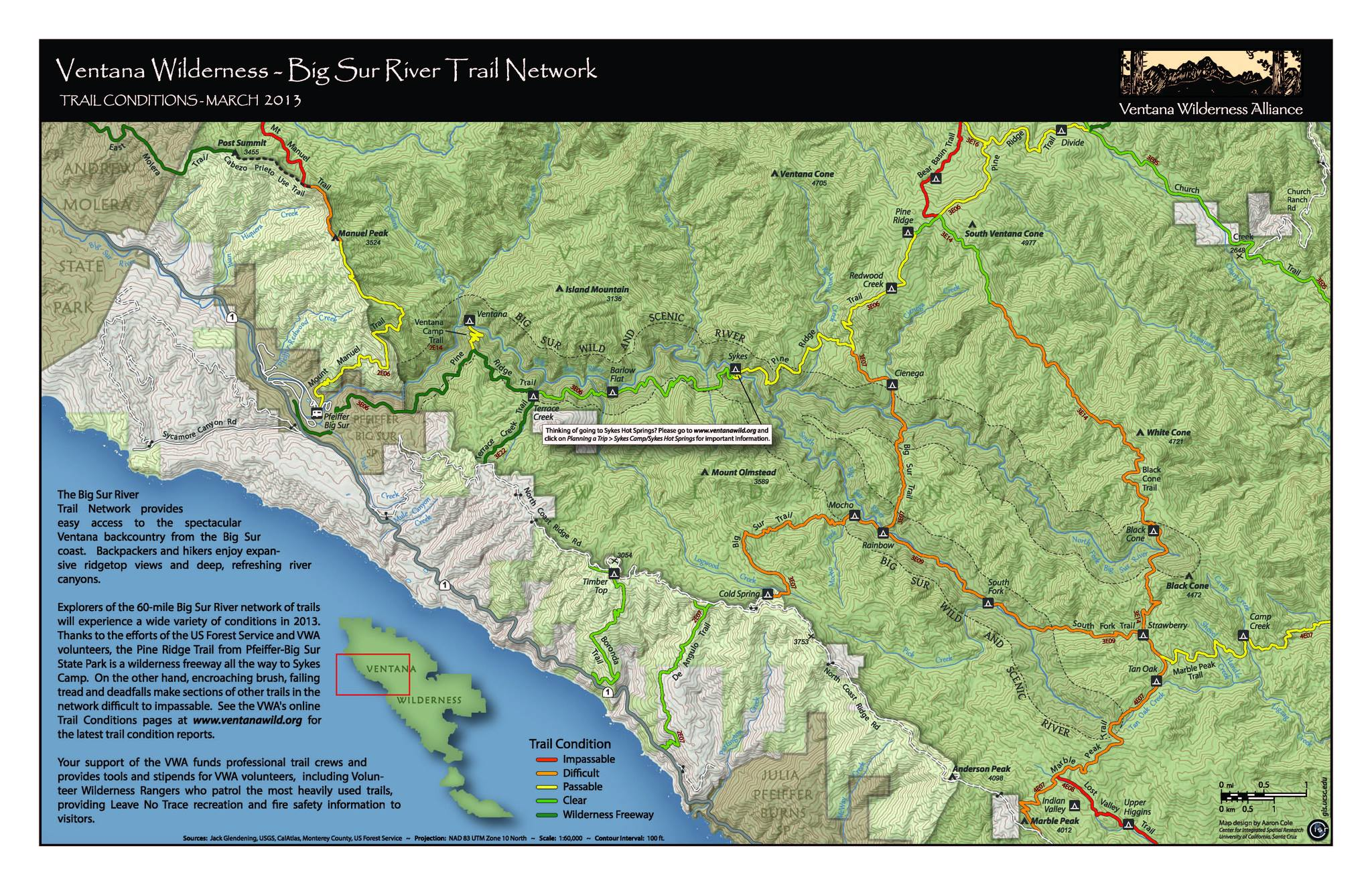 Ventana Wilderness Alliance/Full moon community celebration