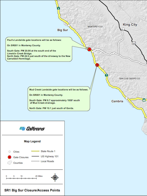 King 5 Traffic Map.Big Sur California Blog